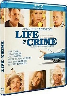 Blu Ray  :  LIFE OF CRIME  [ Jennifer Aniston, Tim Robbins ]  NEUF cellophané