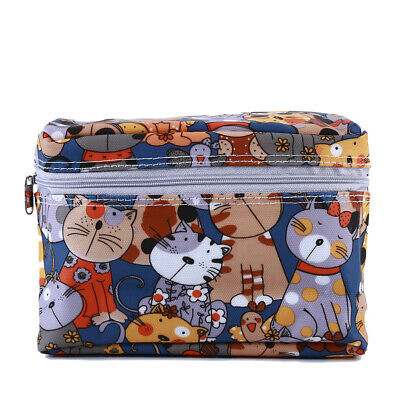 Trendy Zipper Bags Mummy Maternity Baby Nappy Printed Diaper Portable Bag 6A