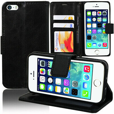 Case Cover Walet Flap leather PU Apple iPhone 5/ 5S/ iPhone SE