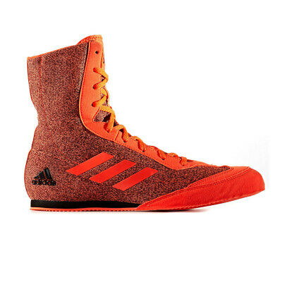 adidas Mens Box Hog Plus Boxing Shoes Orange Sports Breathable Lightweight