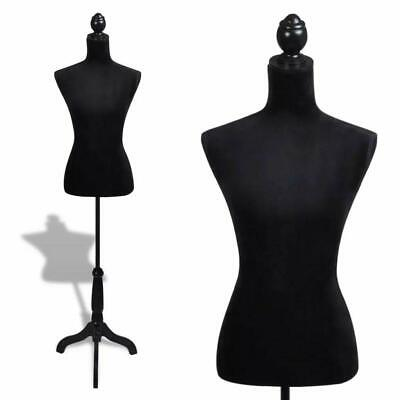 Female Torso Mannequin Shop Clothes Display Tailor Dressmaker Stand Adjustable