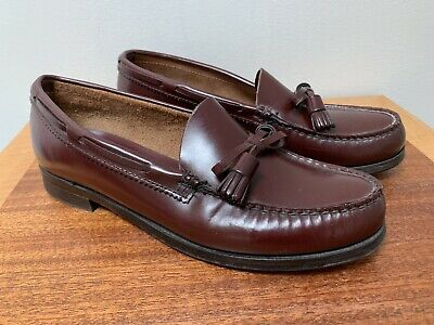 49cb4cc518e Classic Vintage Bass Weejuns Tassel Loafers Shoes Made in the USA Women s  8.5