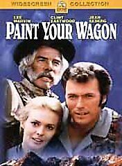 PAINT YOUR WAGON rare Western Musical dvd CLINT EASTWOOD Jean Seberg 1969