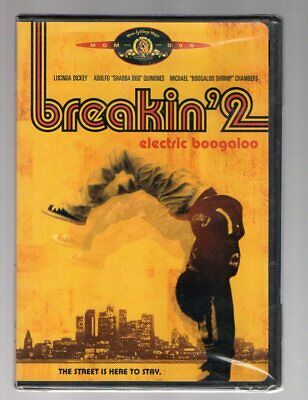 Breakin' 2 Electric Boogaloo Dvd Breakdancing Ii Brand New Authentic & Sealed