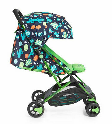 Brand new Cosatto woosh stroller Crazy Cacti with raincover from birth to 25 kg