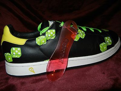 Reebok Ice Cream  NoGreedGreen Black DICE Sneakers SIZE 11  Pharrell RARE   BBC 51c8e5bc9