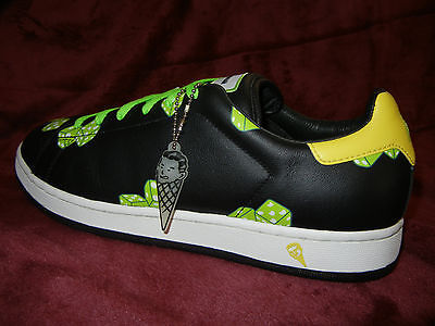 Reebok Ice Cream Green Dice Black  PHARRELL Sneakers SIZE 11  BOUTIQUES  rare DS 43456694e