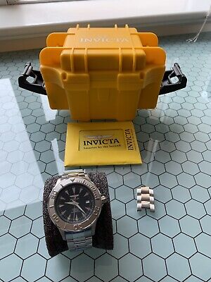 Ocean Watch7034Black Men's Collection Signature Ghost Automatic Ii Invicta NmOvnwy80