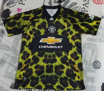 Manchester United EA SPORTS XL Maglia Shirt Originale Autentica Adidas calcio