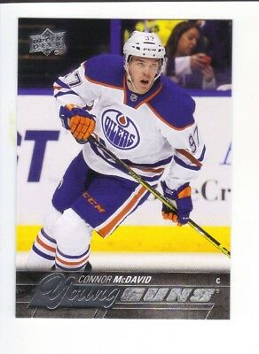 2015-16 UD CONNOR McDAVID #201 Young Guns RC !!!!!BGS 9,5?!!!!!!HOT!!!!!