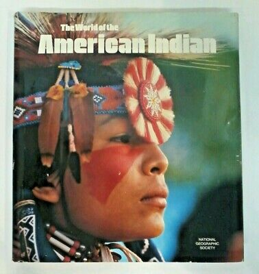 World of the American Indian Book Vintage National Geographic Society Ice Age DC