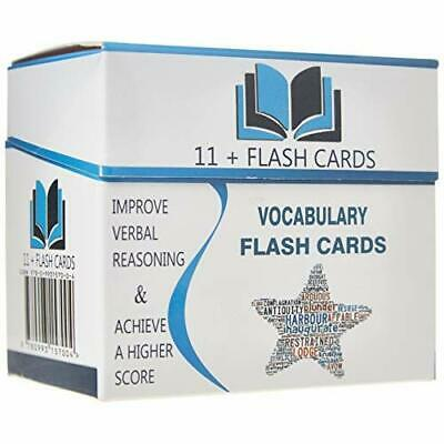 Eleven Plus 11 Vocabulary Flash Cards Study Aid Verbal Reasoning 200 Words