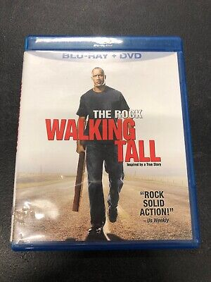 Walking Tall Pre-owned Bluray And DVD 2 Disc Set