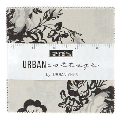 Quilting Fabric Charm Pack - Urban Cottage - Closing Down Save$$$$