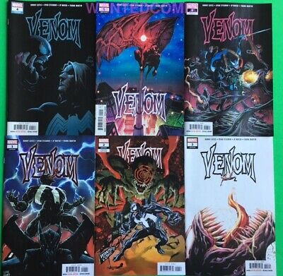 VENOM 1 2 Variant 3 4 5 6 All First Prints Donny Cates Marvel Comic