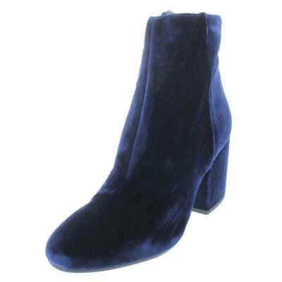 f4283252b Sam Edelman Womens Taye Navy Velvet Ankle Boots Shoes 7.5 Medium (B