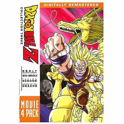 Dragon Ball Z: Movie Pack Collection Three (Movies 10-13), New DVDs