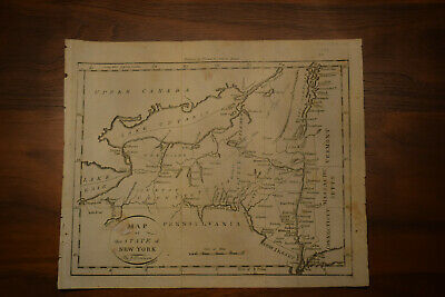 Map of the State of New York c.1796