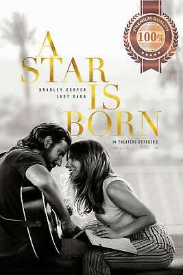 New A Star Is Born 2018 Lady Gaga Official Original Movie Print Premium Poster