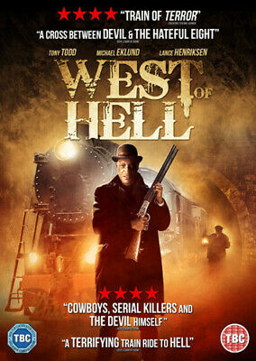 West of Hell DVD (2019) Tony Todd, Steves (DIR) cert TBC FREE Shipping, Save £s