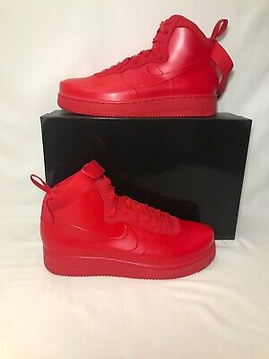 3d7669a17 Nike Air Force 1 Foamposite Cup NA University Red Men s Sz 10.5 BV1172-600