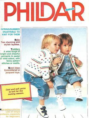 Phildar Baby Knitting Magazine No 118 Layettes Toddlers Jacquard Toys & More