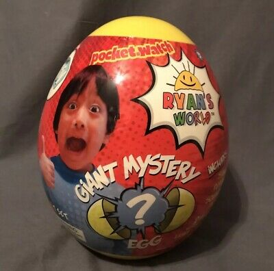 NEW RARE Ryan's World Surprise Giant Mystery YELLOW EGG Limited Edition SOLD OUT