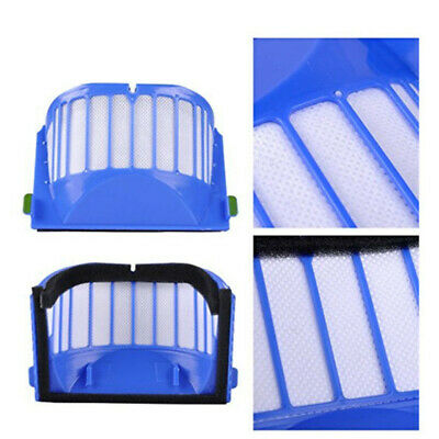 Blue Brush Filter Kit For Irobot Roomba Aerovac Vaccum Cleaner 600 Series 620