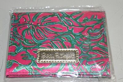 Nuevo Lilly Pulitzer Absorbente Papeles Sunkissed Rosa Pasar Cacahuetes Id Funda