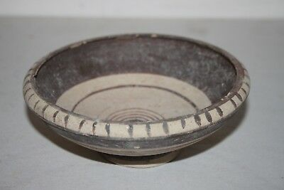 GOOD ANCIENT GREEK POTTERY BOWL 5/4th  CENTURY BC