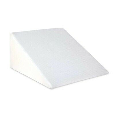 Memory Foam Bed Wedge Pillow Cushion Neck Back Support Home Washable Cover @TOP