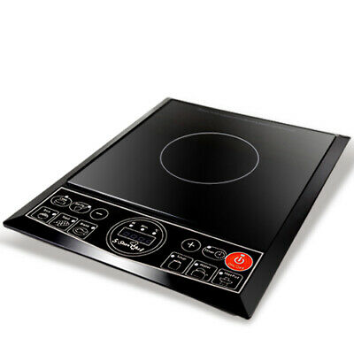 Electric Induction Cooktop Portable Kitchen Cooker Ceramic Cook Top @TOP