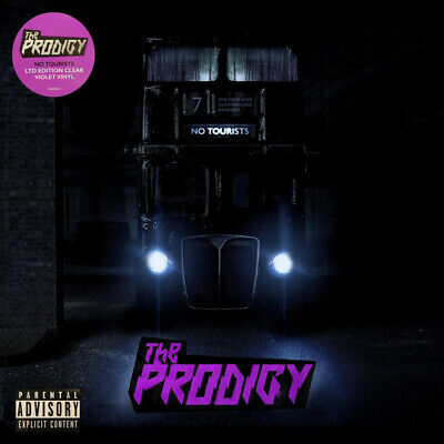 THE PRODIGY - NO TOURISTS, ORG 2018 EU LTD EDITION CLEAR VIOLET vinyl 2LP, NEW!