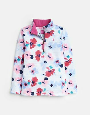 Joules Girls Sweatshirt in LILY POND STRIPE