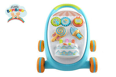 Baby first step Walk 'n' Write 2 In 1 Musical Sounds Push Along activity walker