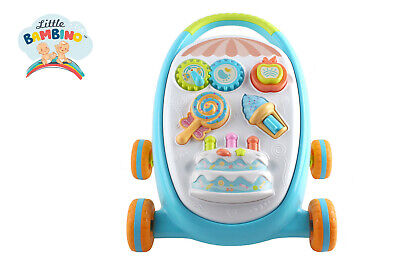 Little bambino Walk 'n' Write 2 In 1 Musical Sounds Push Along