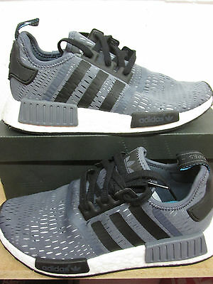 789dcd2a9 ADIDAS NMD R1 Boost Grey Black Camo Tab Men s Running shoes Multiple ...