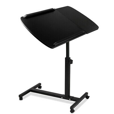 Mobile Laptop Desk Adjustable Notebook Computer iPad Stand Table Tray Bed @HOT