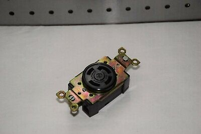 Ge General Electric L-20 30A 347/600V 3 Phase Twist Lock Receptacle New