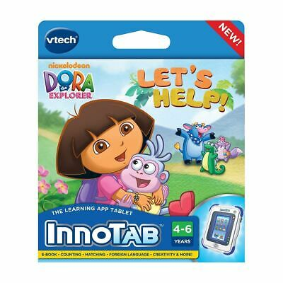 New Innotab Dora The Explorer Educational Language Learning Tablet Official