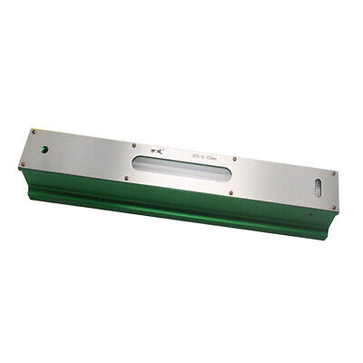 Precision Level Bar Leveler, High Accuracy 0.02mm, with Storage Case 300mm