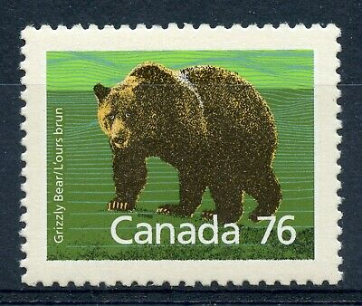 Weeda Canada 1178a VF MNH booklet single, 78c Grizzly Mammal issue CV $4