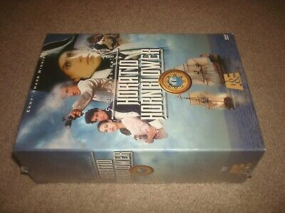 SEALED Horatio Hornblower - Vols. 1-4 (4-Disc DVD Box Set, 2000) A&E Series NEW