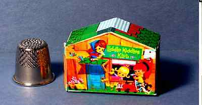 Dollhouse Miniature 1:12  Liddle Kiddles Klub House Dollhouse or Kiddles Diorama