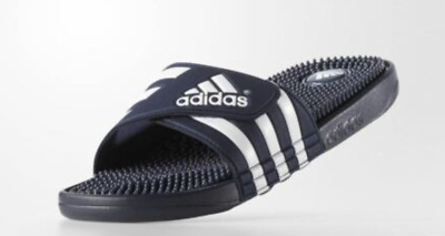 fb1f1c70def7 ADIDAS adissage Men NAVY WHITE Sandal Slippers 078260 Fast Free Shipping NEW
