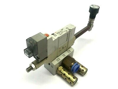 SMC SY3140-5LZ-01T Assy. Solenoid, ARBY3000-05-P-2 Regulator, SY3140-5LZ