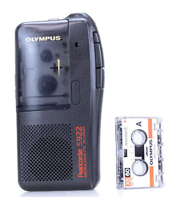 Olympus Pearlcorder S710  Dictaphone  Microcassette Recorder (Réf#K-157)