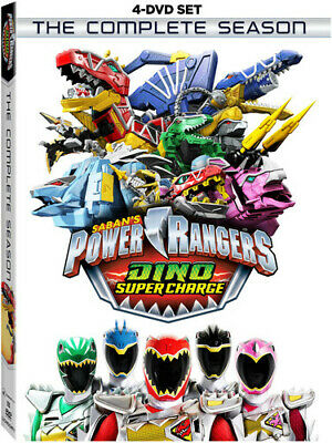 Power Rangers Dino Super Charge: Complete Season - 4 DISC SET (DVD New)