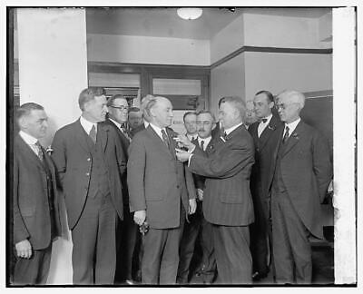General Hines & Vets of Foreign Wars,4/3/24,Veterans,April 1924,Military,1