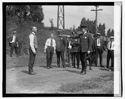 Testing bulletproof vest,September 1923,Guns,Shooting,Police,Law Enforcement